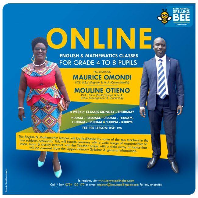 Online English and Mathematics Class